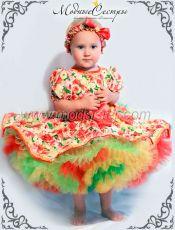 """Платье """"Цветы"""" Арт.402"""