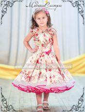 """Детское платье """"Цветы"""""""