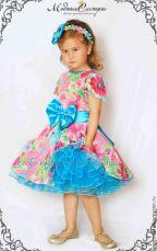 """Платье """"Цветы"""" Арт.225"""