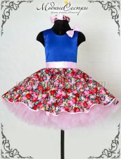 """Детское платье """"Цветы"""" Арт.444"""