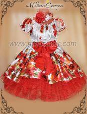 "Платье ""Маки"" Арт.386"